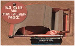 Brown and Williamson's Hand Roller