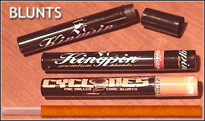Kingpin and Cyclones tobacco wraps