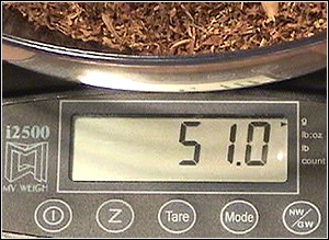 HBI's MyWeigh i2500 - The Ultimate Tobacco Blending Tool