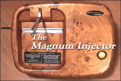 The New Magnum, The Ultimate Electric Cigarette Injector