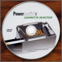 Powematic II DVD now included with machine