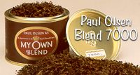Paul Olsen Pipe Tobacco, My Own Blend, PipeTobacco from Stokkebye