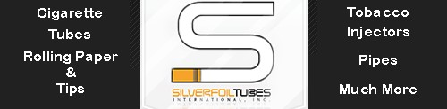 SilverfoilTubes The World's Finest Cigarette Tubes